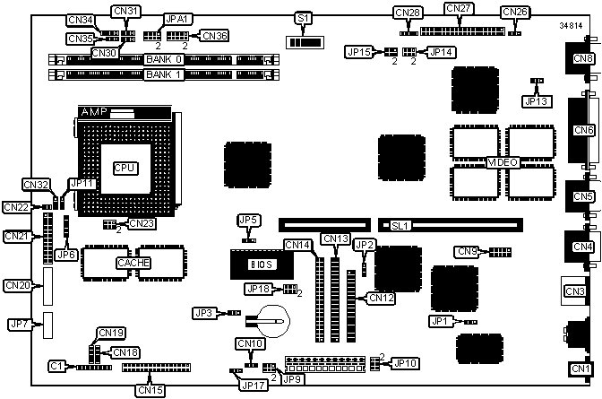 v58la motherboard settings and configuration
