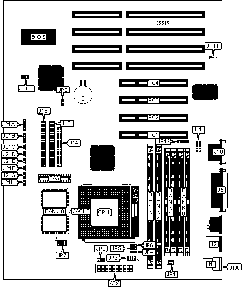 586itxd  rev  a   motherboard settings and configuration